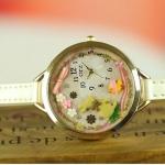 นาฬิกาข้อมือ Diy นาฬิกาข้อมือผู้หญิง สายหนัง แต่ง Display 3 มิติ ตัว กระต่ายน้อย โทนสีเหลือง น่ารัก มุ้งมิ้ง นาฬิกาให้แฟน สุดเก๋ 268280