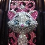 น้องแมวมาเรียสั่งทำเป็นกรอบโทรศัพท์น่ารัก Case iPhone 5s ไอโฟน 4/4s คริสตัล รุ่น Marie 3D