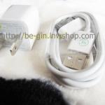 ชุดชาร์ตบ้าน2 ชิ่้น ไอโฟน 4+4S + ipad (หัวบ้าน + USB)