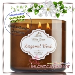 Bath & Body Works Slatkin & Co / Candle 14.5 oz. (Bergamot Woods)