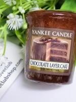 Yankee Candle / Samplers Votives 1.75 oz. (Chocolate Layer Cake)