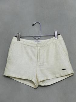 กางเกงขาสั้น CC-OO สีครีม