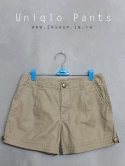 กางเกงขาสั้นมือสอง Uniqlo