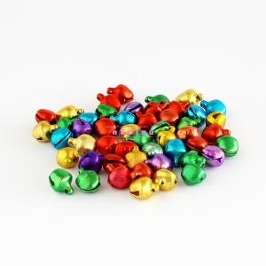 กระพรวนชาวเขา ขนาดกลาง สีคละสี (50p)