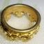 (ขายแล้วค่ะ) C008 แหวนรูปมงกุฎ ทองเหลือง100% thumbnail 5