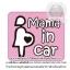 MAMA IN CAR - สติกเกอร์ตกแต่งรถยนต์ มีคนท้องในรถยนต์ thumbnail 1