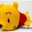 หมีสีเหลืองใส่เสื้อสีแดง thumbnail 1