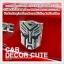 TRANSFORMER - ขนาด 9.5 X 9.5 CM โลโก้ทรานฟอร์มเมอร์ ติดรถ Logo Transformer thumbnail 2