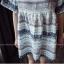 **สินค้าหมด Dress3870 ชุดเดรสน่ารักผ้าชีฟองทึบแสงลายทางดอกไม้ แขนสามส่วนระบาย ผ้าเนื้อดีนิ่มใส่สบาย thumbnail 8