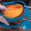 ชามมหัศจรรย์ หมุนได้ 360 องศา ป้องกันอาหารหล่นจากชาม ถือท่าไหนก็ไม่หก thumbnail 2