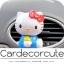( ลด 10 % ) HELLO KITTY - น้ำหอมปรับอากาศติดแอร์รถยนต์ (3 สี) thumbnail 2