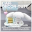 ( ลด 5 % ) CINNAMOROLL - ชุดตกแต่งภายในรถยนต์ ซินนามอลโรล thumbnail 5