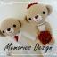"""Wedding Bear 3 (15"""") thumbnail 8"""