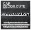 ( ลด 5 % ) MITSUBISH - โลโก้ EVOLUTION ติดตกแต่งรถยนต์ thumbnail 1