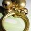 (ขายแล้วค่ะ) C018 แหวนทองเหลือง รูปหัวใจ thumbnail 2