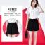 SALE!! Shorts490 กางเกงแฟชั่นเกาหลี กางเกงขาสั้นซิปหน้ากระเป๋าข้าง ผ้าคอตตอนผสมลินินเนื้อดีมีน้ำหนักทิ้งตัวไม่ยับง่าย งานสวยผ้านุ่มใส่สบายแมทช์กับเสื้อได้หลายแบบ มี 2 สี ดำ, เทาอ่อน thumbnail 5