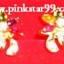 S04 ต่างหู รูปผีเสื้อหลายสี (ขายแล้วค่ะจากที่เดิม Pinkstar99.weloveshopping) thumbnail 1