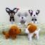 ตุ๊กตาถัก น้องหมา หลายพันธุ์ thumbnail 3