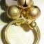 (ขายแล้วค่ะ) C014 แหวนทองเหลือง ประดับหินโรสควอตซ์ thumbnail 3