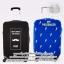 Luggage protective cover - ถุงคลุมกระเป๋าเดินทาง ผ้าคลุมกระเป๋าเดินทาง กันรอย กันน้ำ กันฝุ่น กันกระเป๋าเปิด thumbnail 1