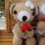 หมีคู่แต่งงาน 10 นิ้ว แบบนั่ง thumbnail 4