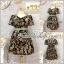 ชุดเดรสแนววินเทจลายดอกสวย แต่งโบว์คาดเอวน่ารัก ผ้าสั่งทำพิเศษค่ะผ้าทอเนื้อดีค่ะ XL อก45 วงแขน21 เอว32-38 โพก56 ยาว37นิ้ว thumbnail 1