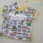 เสื้อยืด PANDA MANIA size 80cm
