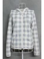 เสื้อกันหนาว Uniqlo สีขาว-เทา ไซส์ M