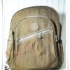 กระเป๋า notebook สะพายหลัง สีน้ำตาล KP002
