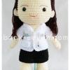 ตุ๊กตาชุดสาธารณสุขขาว