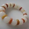 BC016B Honey sweet Jelly JADE.(White) กลมขาวขั้นสีส้ม