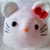 หมวกคิตตี้สีขาว