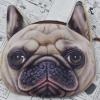 พร้อมส่ง กระเป๋าสตางค์น้องหมาPug (ปั๊ก)น่ารักสุดๆ ลาย2