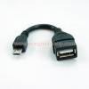 Micro USB to OTG Cable สำหรับ Samsung Galaxy S2 S3 Note Nexus HTC One X LG Sony Nokia Motorola Xoom Archos Toshiba และอื่นๆ
