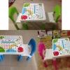 โต๊ะเขียนหนังสือเด็กราคาประหยัด โต๊ะ 1 + เก้าอี้ 2