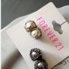 new2 set earrings size 1-2 cm ต่างหูดีไซส์สมัยใหม่แสนโฉบเฉี่ยว