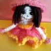 ตุ๊กตากระโปรงบานสีชมพู