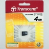 Micro SD Card Transcend 4GB Class 4