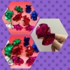 กล. เสกดอกไม้ หรือเนรมิตดอกไม้ (1. เซต มี 10. ดอก)