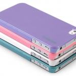 ID:104 iPhone 5 case CAPDASE Karapace Jacket-Pearl for iPhone 5