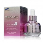 Bergamo The Luxury Skin Science Pure Snail Whitening Ampoule 30ml.   