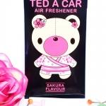 Ted A Car / Air Freshener (Sakura)