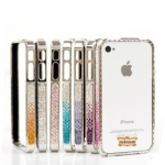 ID: A109 Swarovski crystal case iphone 5 Aluminum bumper  5 
