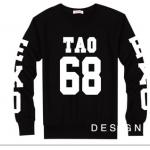 เสื้อแขนยาว TAO-68 black sleeves [EXO]