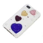 ID: A027 Case iPhone 4s, iphone 4 case น่ารัก รุ่น Colour of  Heart