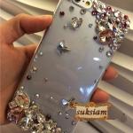 Hot Price! Case iPhone 6 crystal, iPhone 6 plus ศูนย์รวมเคสมือถือประดับคริสตัลและมุกราคาส่ง เคสไอโฟนติดเพชรฟรุ้งฟริ้ง ID: A257