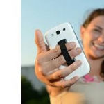 Grip your Phone สายรัดมือถือกับนิ้ว+ ขาตั้ง สำหรับโทรศัพท์มือถือและแท็บเล็ตพีซี