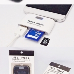 OTG Smart 4 in 1 Micro USB Card Reader Adapter