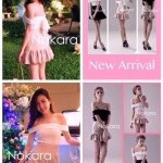 เดรสสไตล์แบรนด์ CHAYADA BOUTIQUE.. New Arrival...Dance in the momories skirt..