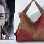 กระเป๋าสะพายข้างผู้หญิง ใส่ของไปเรียน กระเป๋าผ้าแคนวาส จุของได้เยอะ ใช้เป็น กระเป๋าใส่เสื้อผ้า ไปเที่ยว ได้ ลายตาราง สีแดง น้ำตาล 4064536_2